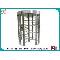 Wholesale Stainless Steel Full Height Turnstiles RFID Barrier Gates For Station from china suppliers