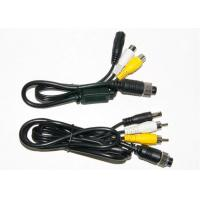 Wholesale Colorful 4 Pin RCA BNC Cable , BNC Video Cable For Marine Equipment from china suppliers