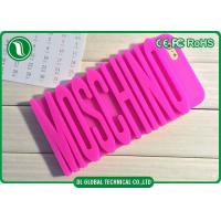 Wholesale Girls Moschino 3D Letter Silicone Phone Cases for iPhone 6 , iPhone 6 Plus from china suppliers