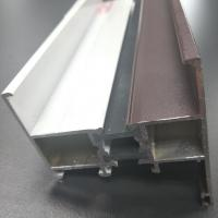 Wholesale Australia Standard AS2047 Certified  Aluminum Brown Color Sliding Window Thermal Break from china suppliers