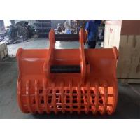 Wholesale Long Durability Hardox 450 Excavator Screening Bucket / Skeleton Bucket from china suppliers