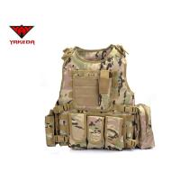 Wholesale Comfortable Military Bulletproof Vest , Molle Airsoft Paintball Plate Carrier from china suppliers
