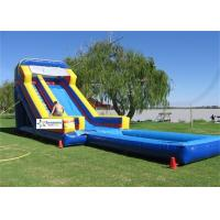 Wholesale Fire Resistant PVC Tarpaulin Giant Inflatable Water Slides For Rent from china suppliers