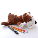 China Free sample cute soft plush stuffed unicorn pencil case cheapest price hot sale for sale