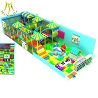 China Hansel  soft business plan tunnel soft play small kids indoor playground on sale
