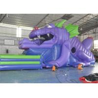 Wholesale Customized Size Commercial Inflatable Slide, 18ft Inflatable Dinosaur Slide For Kids from china suppliers