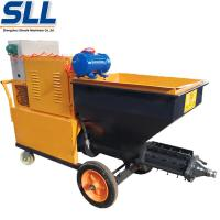 Wholesale 380V/7.5W CE Certificate Gypsum Cement Rendering Spray Machine Adhesive Plaster Machine from china suppliers