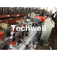 Wholesale PU Foam Rolling Shutter Door Slat Roll Forming Machine With 0-15m/min Forming Speed , Gearbox Drive Type from china suppliers