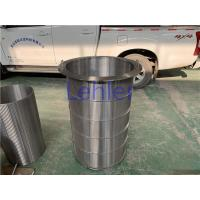China Large Size Wedge Wire Filter Elements Diameter 600mm Length 1100mm for sale