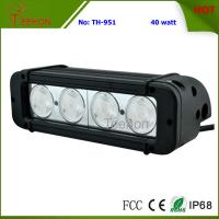 Buy cheap 40 Watt 8 Inch Single-Row CREE LED Light Bar SXS Light bar for 4X4 off-Road Vehicles from wholesalers
