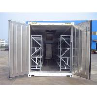China Refrigerated Cold Processing Mobile Cooler Trailer For Meat Fishing Cooler on sale