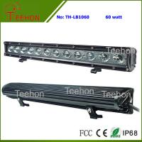 Wholesale 60 Watt 20 Inch Single-Row off-Road CREE LED Light Bar for ATV and UTV from china suppliers