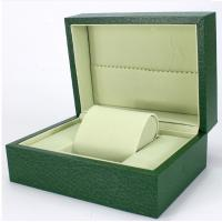 Wholesale Green Paper Watch Box / Jewelry Wooden Box Packaging Eco-friendly from china suppliers