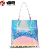 China PP Plastic Food Packaging Bags Non Woven Material Women Shopping / Gift Packaging on sale