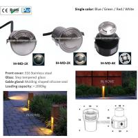 Buy cheap High Quality 316 Stainless Steel 3W LED one / two / four Side Emitting LED Underground Lights from Wholesalers