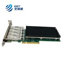 IEEE member Programmable NIC FPGA Card Fibre Optic 10Gbps Network Adapter for sale