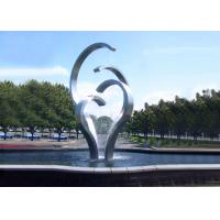Wholesale Contemporary Stainless Steel Water Feature For Park Decoration Easy Install / Maintain from china suppliers