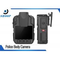 Quality 1296P Infrared Waterproof HD Body Camera Battery Life Long H.264 MPEG4 for sale