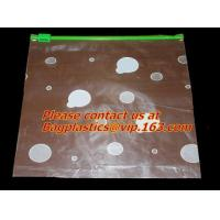 Wholesale Plastic clear slider bag, zip lock garment bag, slide zip lock plastic bag, bank supplies from china suppliers