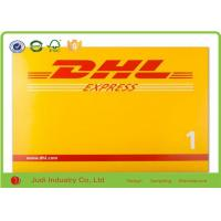 Wholesale DHL Printed Poly Mailing Bags 250gsm Whiteboard Express Bags Puncture Resistant from china suppliers