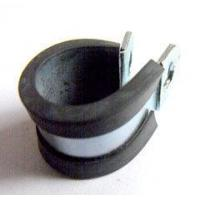 China P Type Rubber Lined Hose Clips Pipe Clamp on sale