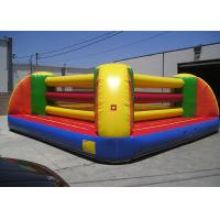 Quality Waterproof PVC Inflatable Sports Games , 2 Person Exciting Inflatable Boxing Court for sale