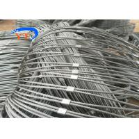 Outdoor Decorative Metal Rope Mesh Rust Resistant 100-110000 PSI Tensile Strength