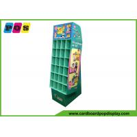 Wholesale Promotional Cardboard Pop Displays With Small Pocket Cells And Base Stand POC037 from china suppliers