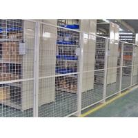 Quality Indoor Warehouse Safety Fences , Security Steel Fencing 1.5-3m Width for sale