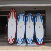 Wholesale Soft Top Touring Stand Up Paddle Board , Air Sup Board Double Wall PVC Fabric Material from china suppliers