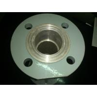 China ISO Foundry Aluminum Pipe Flange ZL101A CT8 Tolerance Welding Pipe Ra6.3-12 on sale