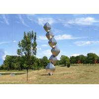 Wholesale Abstract Steel Sculpture / Stainless Steel Art Sculptures Garden Landscape Design Cubes from china suppliers