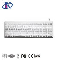 Buy cheap IP68 Washable Medical Sealed Keyboard USB Interface With ON/OFF Backlight Button from wholesalers