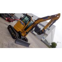 Wholesale Xcmg XE35U Mini Excavator 3 Ton / Small Excavation Equipment Yellow Color from china suppliers