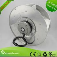 Quality FFU EC AC Centrifugal Blower Fan Back Curved For Houses / Buildings Ventilation for sale