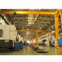 China Portable Jib Cranes, Travelling on Wall-mounted Rails, Easy Handling, Improve Work Efficiency  on sale