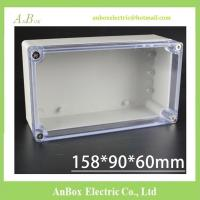 China 158*90*60mm Clear Lid Electrical Plastic Waterproof Enclosure ip65 on sale