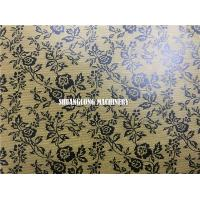 China Gift Wrapping Paper Automatic Embossing Machine with Online Printing on sale