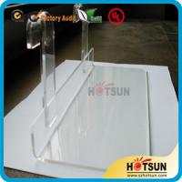Wholesale Lucite shoe racks for sale, shoe store retail acrylic display rack, clear shoe racks for store from china suppliers