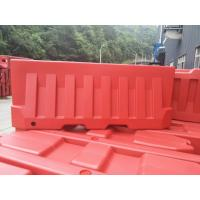 China 1400mm / 55 Rotational Moulding Plastic High Water Filled Traffic Barrier Safety Fence Vehicle Fencing on sale