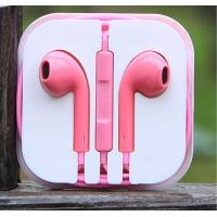 Wholesale Earphone  for Iphone, Ipad, Ipod with Volume control and Mic, Pink Earphone from china suppliers