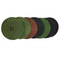 """Wholesale 4"""" Flexible Diamond Polishing Pads For Stone With Aggressive Speed from china suppliers"""