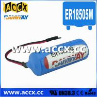 Wholesale 3.6V ER18505M Lithium Thionyl Chloride Battery (er14250mer14335m er14505m er26500m er3461m from china suppliers