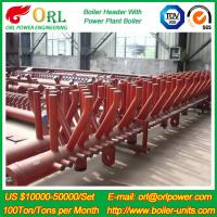Wholesale Plant CFB Boiler Heating Power Chemical Oil Chemical Industry 240 MW Boiler Header SGS from china suppliers