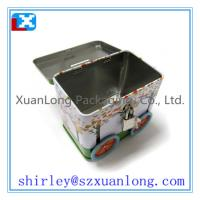 Quality Car shape tin with lock as Gift for sale