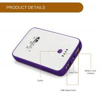 Input 1A Li-Polymer Battery USB Portable Power Bank For Mobile Devices / Panel Computer for sale