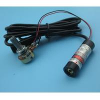 Wholesale output power adjustable 650nm 5mw red line laser module from china suppliers