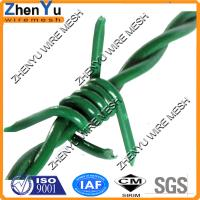 Buy cheap Top Quality cheap pvc/pe coated galvanized iron wire barbed wire price per roll from wholesalers