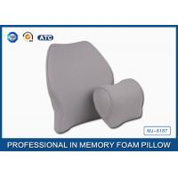Wholesale Soft Memory Foam Car Travel Pillow Filling Breathable with Deluxe Pillowcase from china suppliers