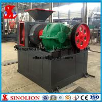 Wholesale Double roller hydraulic iron ore powder briquette making machine supplier from china suppliers
